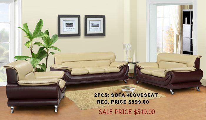 Direct Furniture Corp Atlanta & Duluth GA 2 Tone sofa