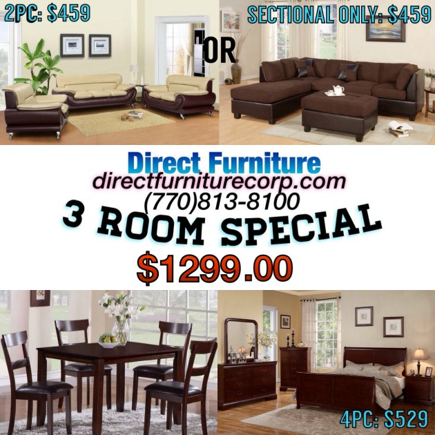 Direct Furniture Corp Atlanta & Duluth GA SPECIAL